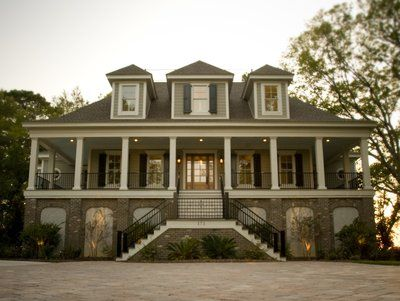 6 Bedroom 5 Bath Traditional House Plan Alp 036u Charleston House Plans Low Country Homes Country House Plans