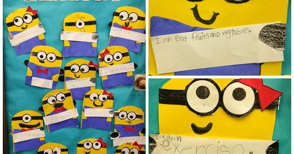 A Minion Reasons To Be Healthy and More - Learning With Mrs.