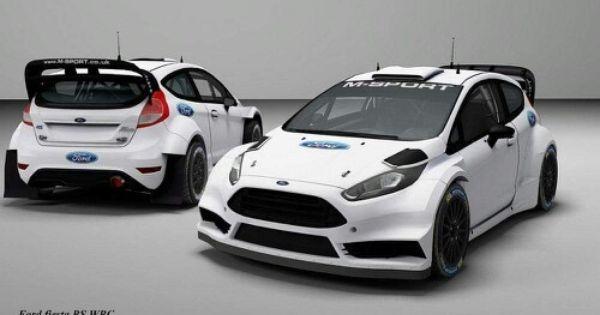 Body Kit Wrc Ford Fiesta Modified Rally Car Design Car Ford