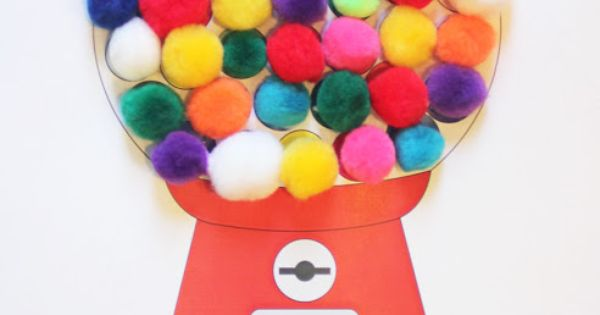 Repeat Crafter Me: Gumball Machine #Color Matching with # ...