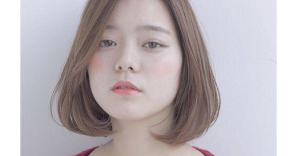 面長さんにおすすめ前髪アレンジ55選 あり なし別に紹介 小顔効果があるのは Yotsuba よつば 2021 前髪 おすすめ 顔の形