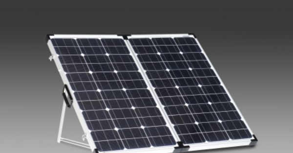 200 Watt Folding Solar Panels With Built In Charge Controller Possibility For My Rv Solar Panels Best Solar Panels Rv Solar