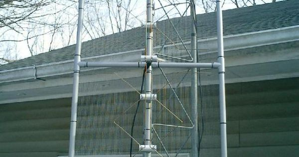 how to build a radio antenna uhf