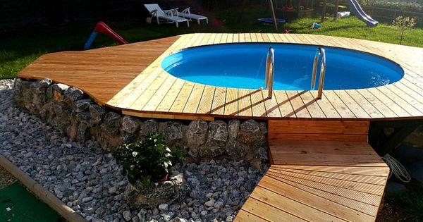 So wird aus einem normalen pool dank des tollen for Garten pool stahlwandbecken