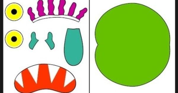 노부영 왕대박 자료 3탄 Go Away Big Green Monster Big Green Monster Green Monsters Monster Activities