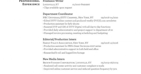 this is a cool layout for a resume  instead of using color