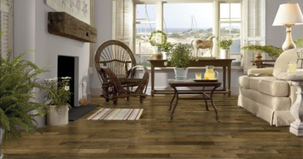 Armstrong evening shadow hickory floor four walls a for Armstrong design a room