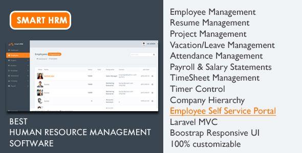 Smart Hrm Project Management Payroll Attendance Timesheet Timer Employee Management Payroll Project Management