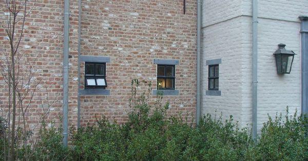 Oude klampsteen rijnvorm oude en verouderde bouwmaterialen exterieur pinterest gevel - Decoratie exterieur gevel ...