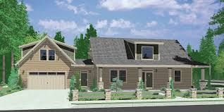 Colonial With Bonus Room Above Attached Garage Google Search Carriage House Plans One Storey House Craftsman House Plans