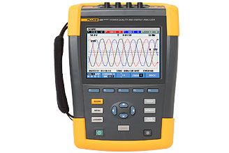 Power Analyzer Fluke 435 Series Ii With Advanced Functions Ideal Tools Power Power Inverters