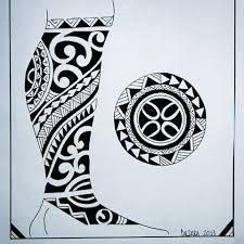 Resultado De Imagem Para Tattoo Maori Na Perna Desenho Tattoo