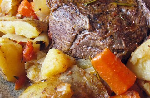 beef pot roast recipe with vegetables