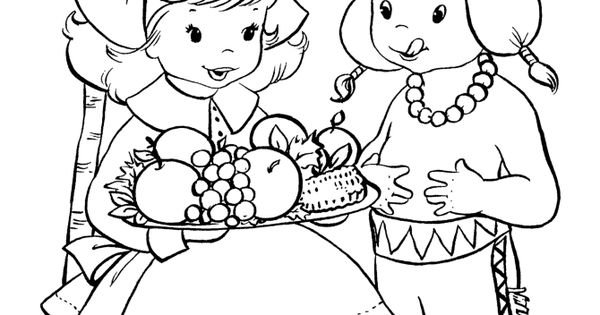 Free printable thanksgiving day coloring pages | www.sd ...