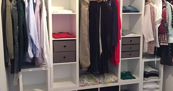 kleiderschrank ikea kallax stangen und die f e ber ebay kleiderschrank pinterest. Black Bedroom Furniture Sets. Home Design Ideas
