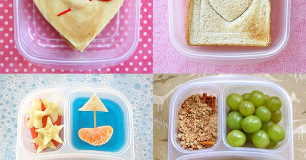 Kindergarten lunch box ideas. Oh I just can't wait to make cute