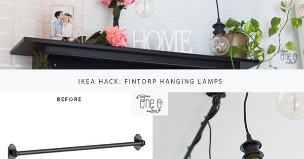 Luci appese, Ikea hack and Hack on Pinterest