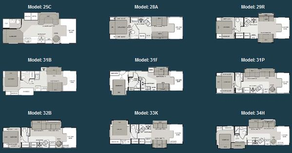 Four Winds Class C Motorhome Floorplans Large Picture Rv Wagon Tiny Home Floor Plans
