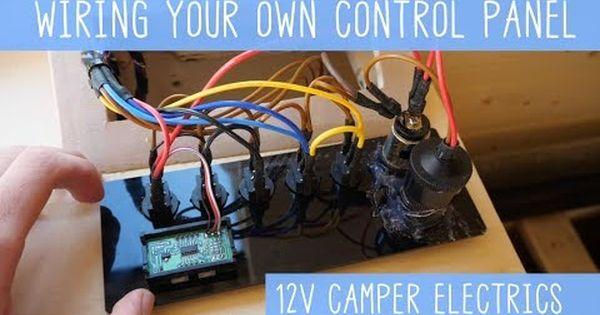 Super Easy 12v Camper Van Electrics How To Youtube Camper Van Van Camper
