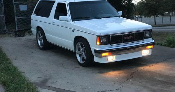 1989 Gmc Jimmy 2 Dr Std 4wd Suv Chevy S10 Gmc Trucks S10 Blazer