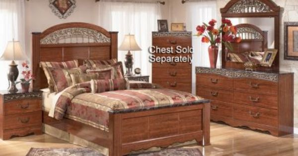 ashley fairbrooks collection 6 piece queen bedroom set