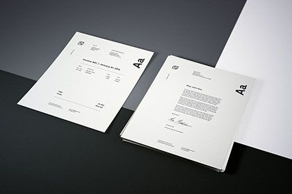 Photorealistic Letterhead Mockup Free Design Resources Free Mockup Stationery Mockup Free Design Resources