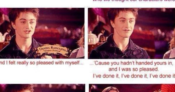 Harry potter cast interview essay