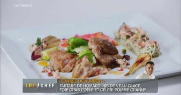 R moulade de homard ris de veau et foie gras po l cuisine abats pinterest cuisine chefs - Comment cuisiner les ris de veau ...