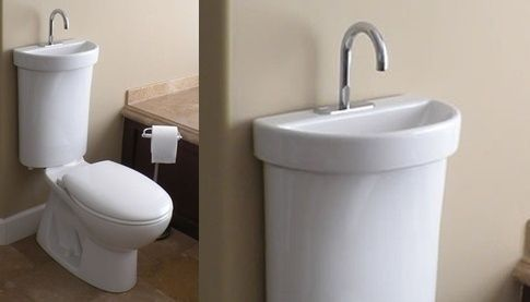 Your Toilet Could Have A Sink On The Cistern Toilets And Sinks Toilet Sink Tiny House Bathroom