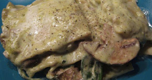 Creamy Pesto Chicken Lasagna | Casserole | Pinterest | Creamy Pesto ...
