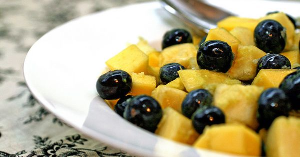 Simple, Fruit salads and Limes on Pinterest
