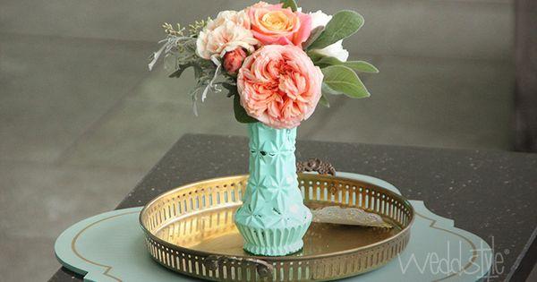 Hochzeitsdeko & Bohemian Style #weddstyle  ♡ MINT HOCHZEITSDEKO ...
