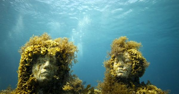 Can Underwater Art Save the Ocean's Coral Reefs? Artist Jason deCaires Taylor