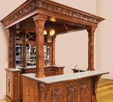 Bar Cabinet Plans The First Design Is More Of A Stand Alone Project Assembled With Med Bilder