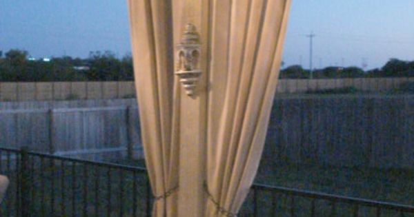 Drop Cloth Out Door Curtains Outdoor Spaces Pinterest Doors Canvas Drop Cloths And Cloths