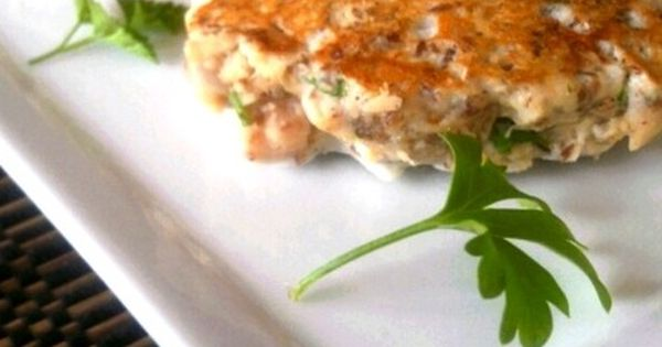Quick and easy healthy tuna patties, about 80 kcals each Healthy Food