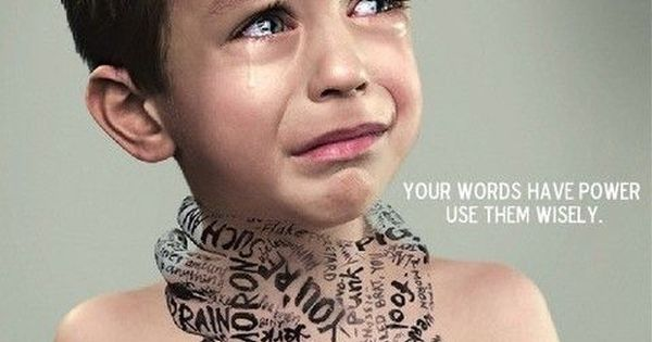 words have power. use them wisely.