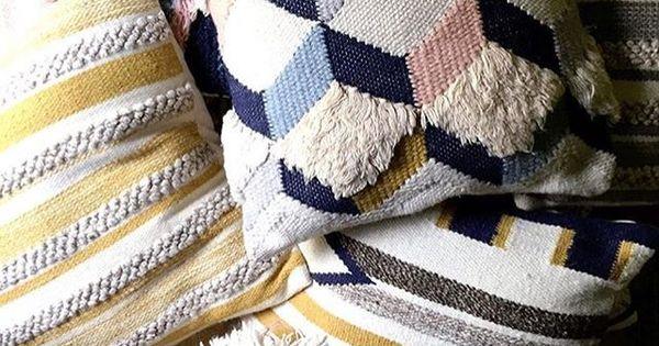 market tiger stripe pillows