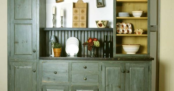 Kitchen idea of the day early american kitchens by for Early american kitchen cabinets