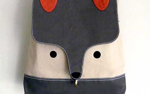 An epically awesome backpack for back to school. fox backpack sewing diy
