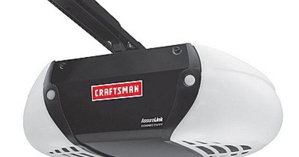 275 49 Monitor Operate The Garage Door Opener From Anywhere Via A Smartphone Or Go Onli Garage Door Opener Remote Garage Door Opener Garage Door Opener Repair