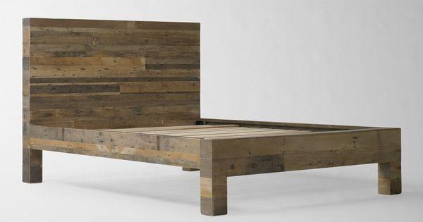 Emmerson Reclaimed Wood Bed Bedroom Inspiration