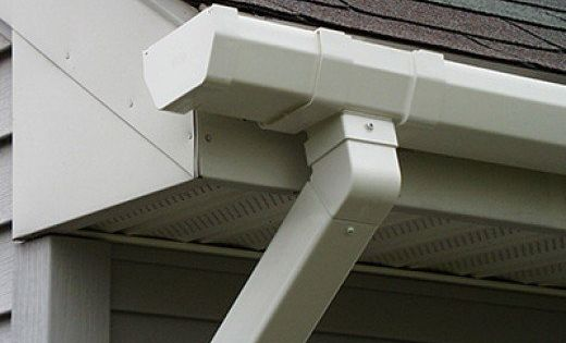 Tips For Spray Painting Gutters And Downspouts Painting Gutters Gutters Diy Gutters