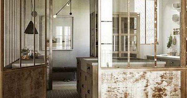pinterest verri re d 39 int rieur l 39 atout charme de la cuisine deco pinterest verri re. Black Bedroom Furniture Sets. Home Design Ideas