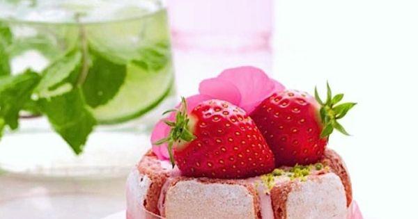 Strawberry Wedding Cake De Jean Pierre