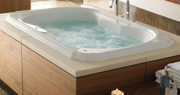 How To Clean A Spa Or Hot Tub Big Bathtub Tub Jacuzzi Tub