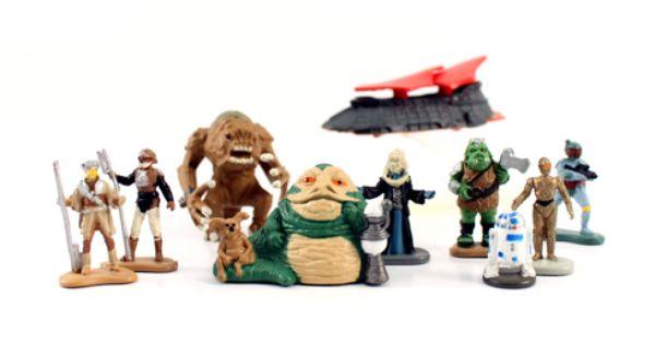 Star Wars Micro Machines Heads ** FREE P/&P **
