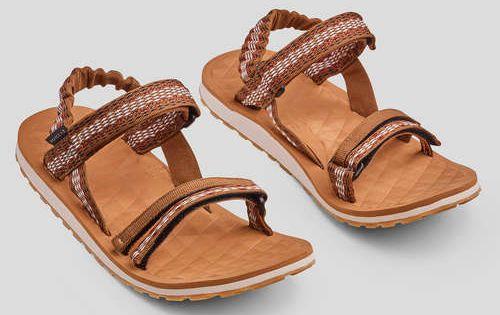 Sandaler Skor Naturvandring Varmt Vader Sandal Travel 100 Dam Brun Hiking Sandals Female Travel Sandals