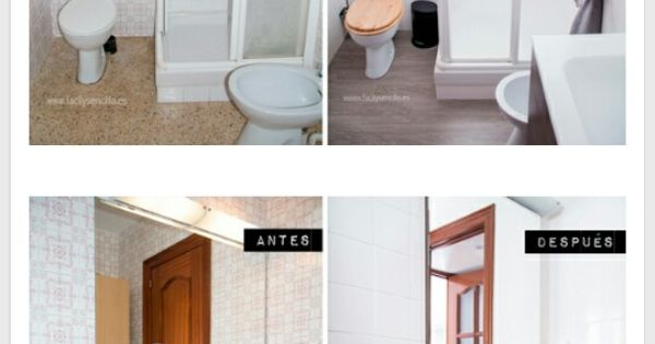 Renueva el ba o con suelo vinilico y pintura para azulejos - Pinturas para cocinas y banos ...