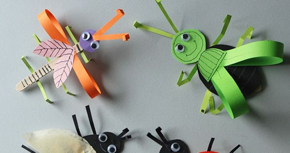 Bugs From Ice Cream Wooden Sticks Education Pinterest